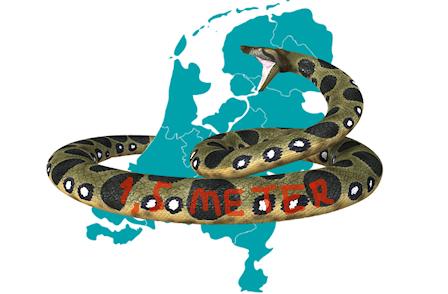 'Nederland krijgt een wurgslang van anderhalve meter om zijn nek gelegd'