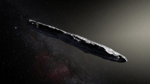 Harvard afdeling astronomie denkt dat mysterieus object buitenaards ruimteschip was